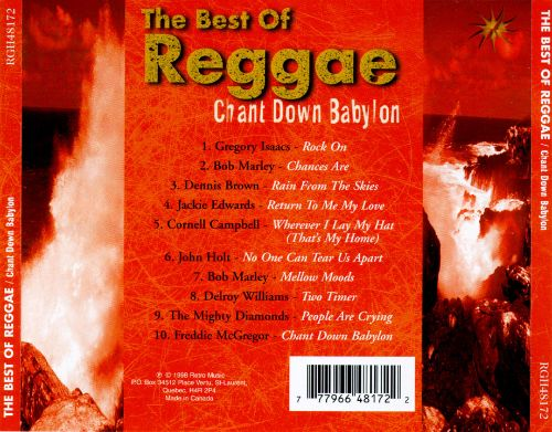 Chant Down Babylon [Best of Reggae]