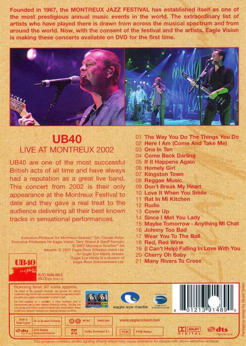 Live at Montreux 2002 [Video]