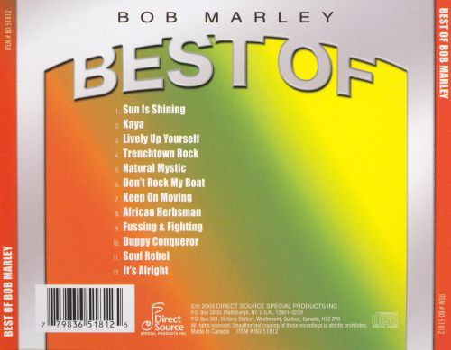 Best of Bob Marley [Direct Source]