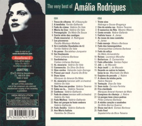 The Very Best of Amalia Rodrigues