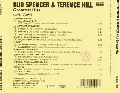 greatest hits terence hill bud spencer songs reviews. Black Bedroom Furniture Sets. Home Design Ideas