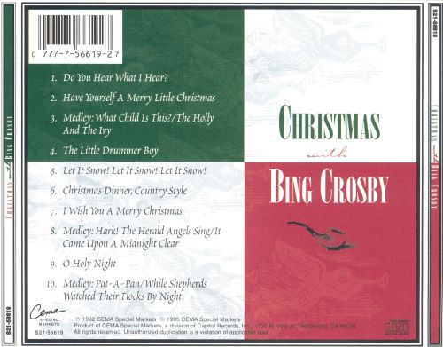 ... Christmas with Bing Crosby [CEMA]