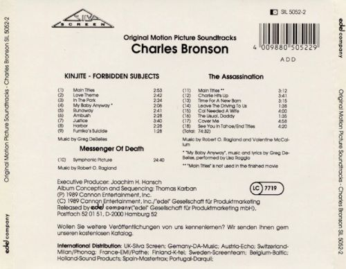 Music from the Films of Charles Bronson