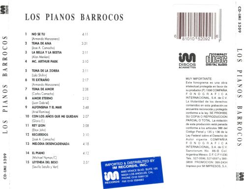 Los Pianos Barrocos