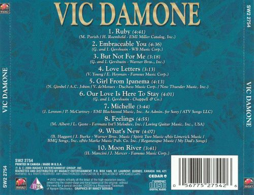 Vic Damone [Madacy]