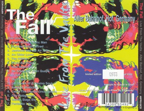 Live from the Vaults: Alter Banhoff, Hof, Germany