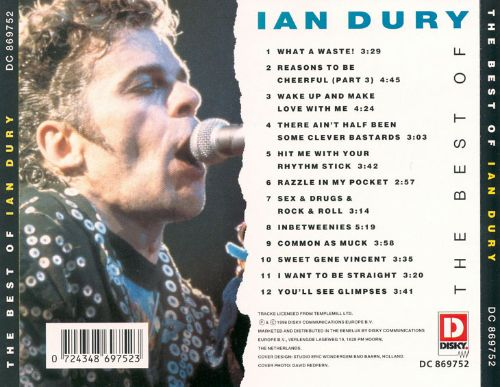The best of ian dury disky ian dury songs reviews credits the best of ian dury disky solutioingenieria Image collections