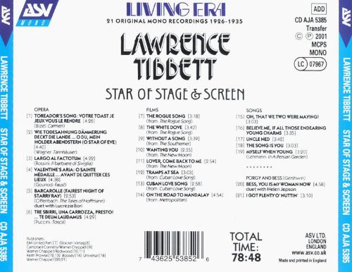 Star of Stage & Screen