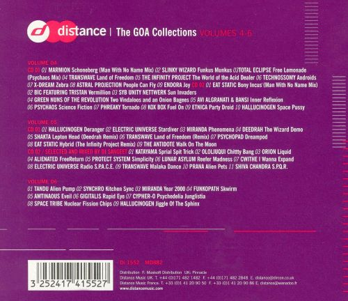 The Goa Collections, Vols. 4-6
