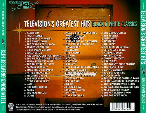 Television's Greatest Hits, Vol. 4