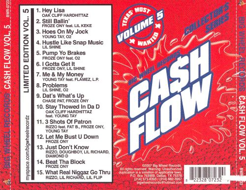 Cash Flow, Vol. 5