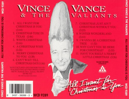 All I Want for Christmas Is You - Vince Vance & the Valiants ...