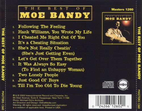 The Best of Moe Bandy [Intercontinental]