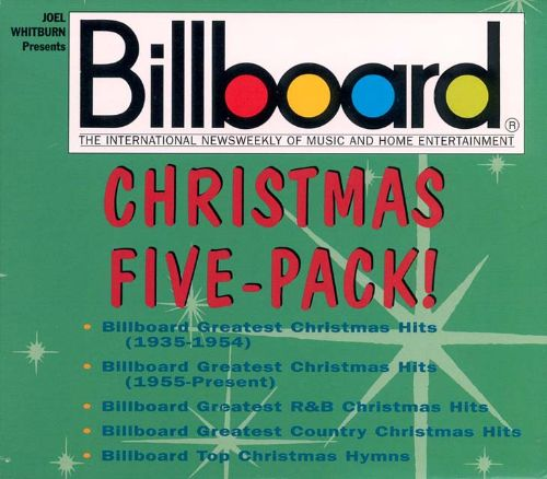 billboard christmas five pack