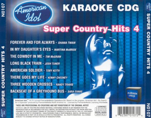American Idol Super Country Hits, Vol. 4