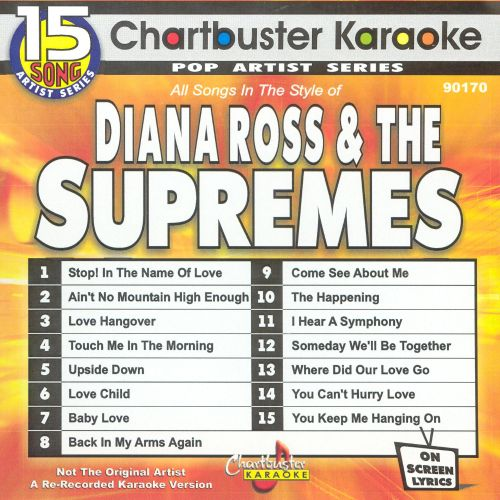 Chartbuster Karaoke: Diana Ross & The Supremes