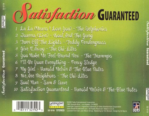Satisfaction Guaranteed: Incredible Soul Hits