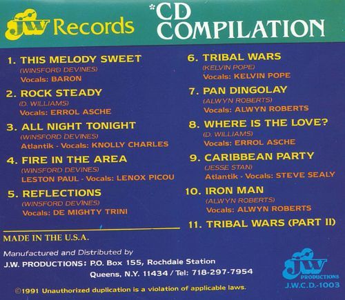 JW Records CD Compilation