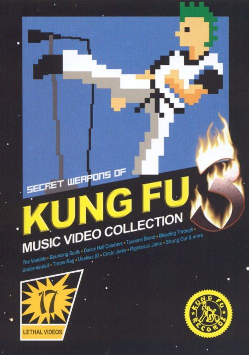 Secret Weapons of Kung Fu, Vol. 3: Music Video Collection [DVD]