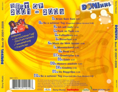 Best of Donikkl 2001-2009