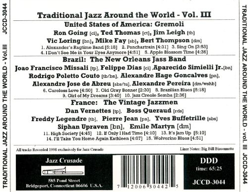 Traditional Jazz from Around the World, Vol. 3