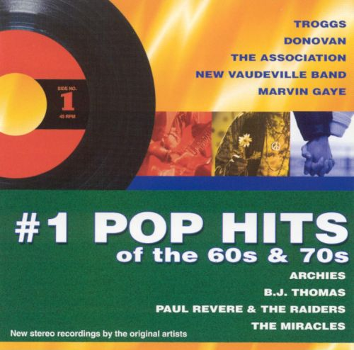 #1 Pop Hits of the 60s & 70s [Green]