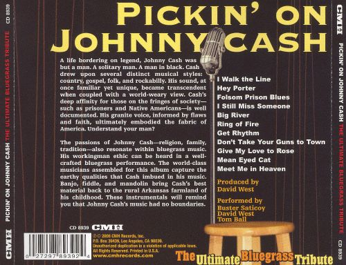 Pickin' on Johnny Cash: The Ultimate Bluegrass Tribute