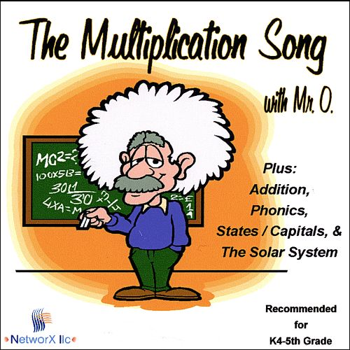 The Multiplication Song with Mister O