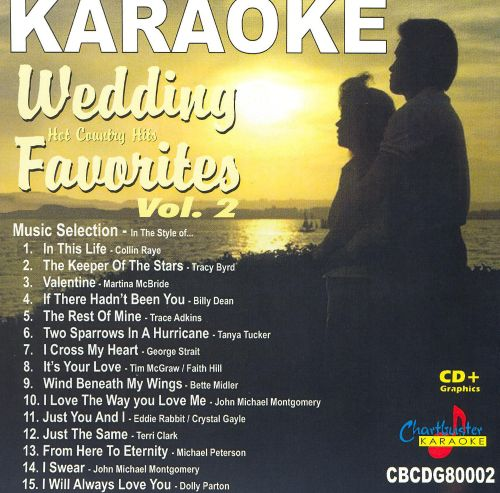 Chartbuster Karaoke: Wedding Favorites - Hot Country Hits, Vol. 2 ...