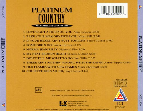 Platinum Country: All Number One Country Hits