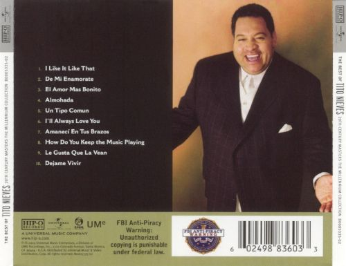 20th Century Masters: The Millennium Collection: The Best of Tito Nieves