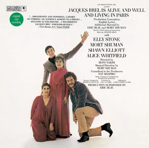Jacques Brel Is Alive And Well And Living In Paris [Broadway Cast] [Expanded]