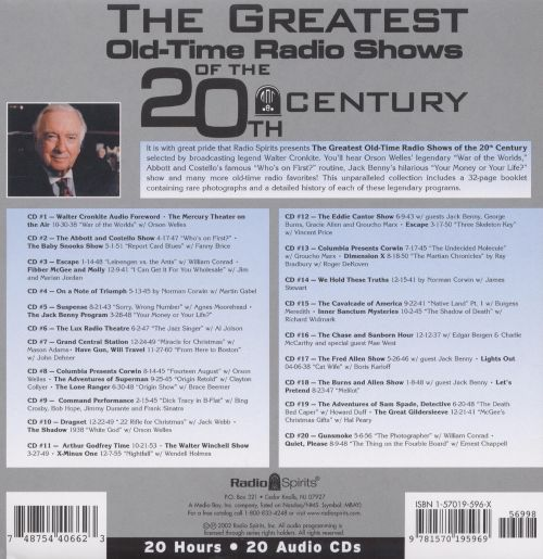 Greatest Shows Of The 20th Century