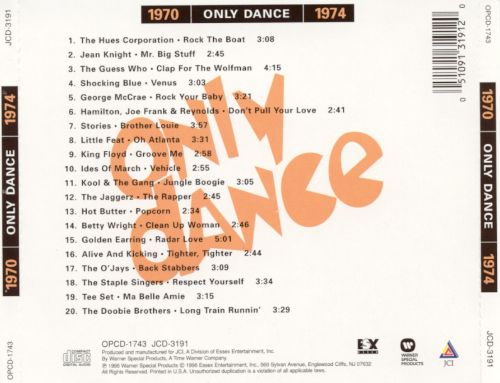 Only Dance 1970-1974