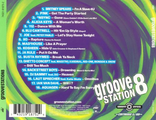 Groove Station, Vol. 8
