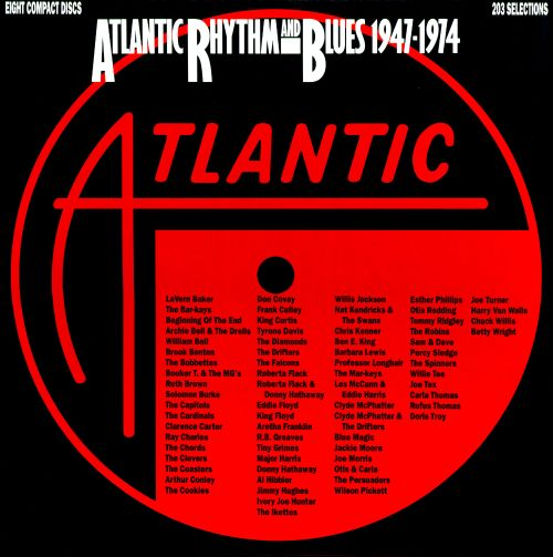 Atlantic Rhythm Amp Blues 1947 1974 Box Various Artists