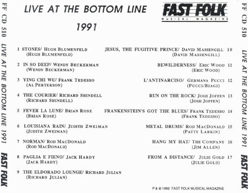 Live at the Bottom Line 1991