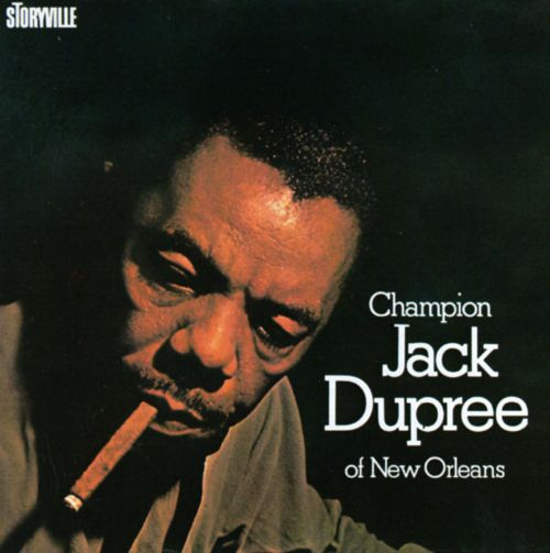 Champion Jack Dupree of New Orleans