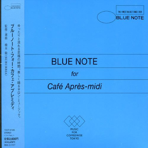 Blue Note for Café Après-midi