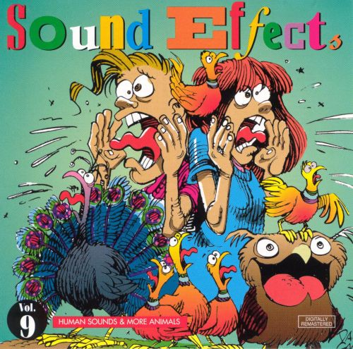 Sound Effects, Vol. 9: Human Sounds & More Animals