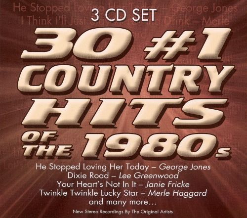 30 #1 Country Hits of the 1980s