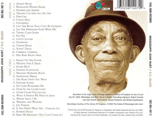 D.C. Blues: Library of Congress Recordings