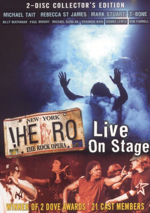 Hero: The Rock Opera: Live on Stage [DVD]