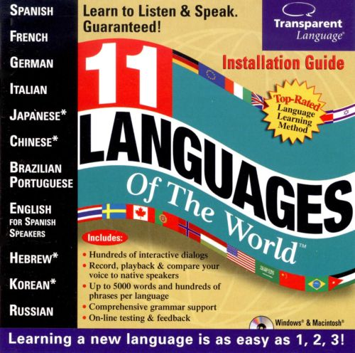 11 Languages of the World