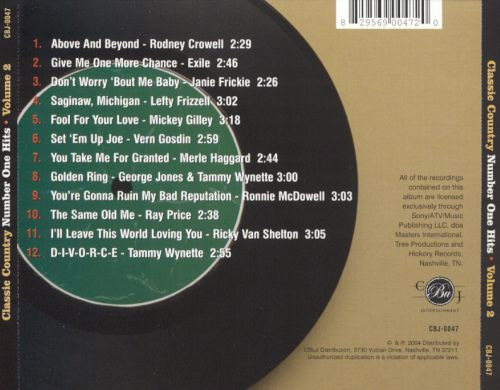 Classic Country, Vol. 2 [2004]