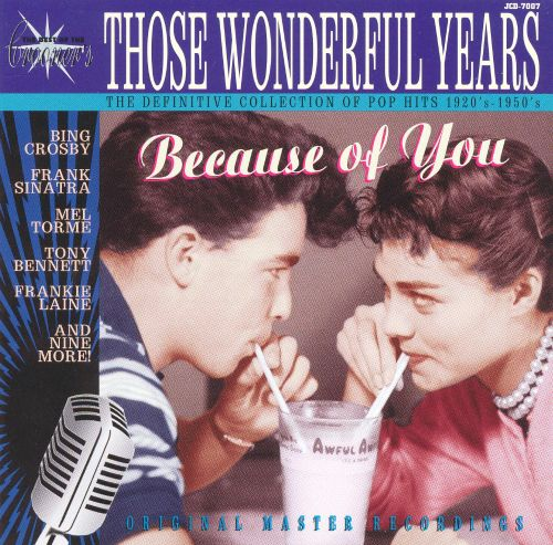 Those Wonderful Years: Because of You