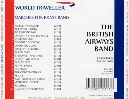 World Traveller: Marches for Brass Band