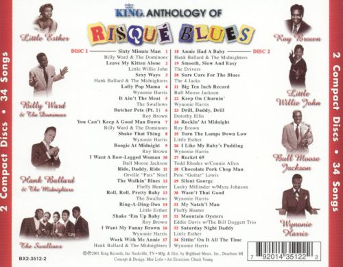 Risque Blues: The King Anthology