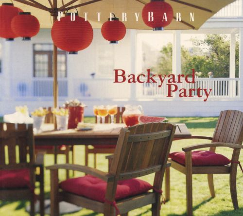 Pottery Barn Backyard Party