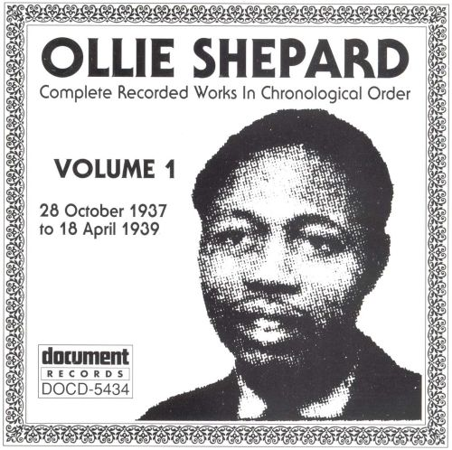 Complete Recorded Works, Vol. 1 (1937-39)